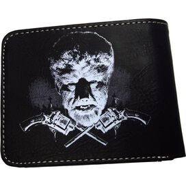 Wolfman Head Wallet