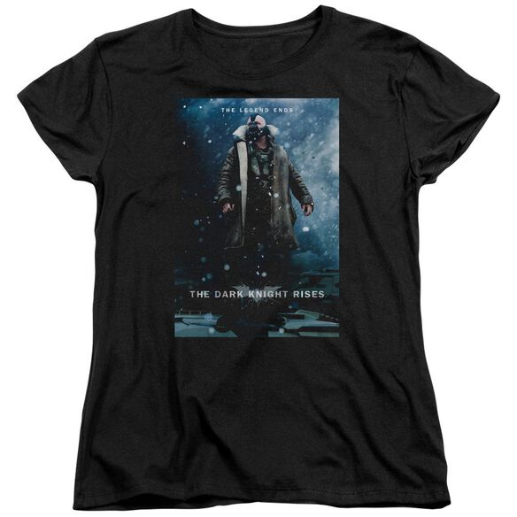 Dark Knight Rises Bane Poster Short Sleeve Womens Tee T-Shirt