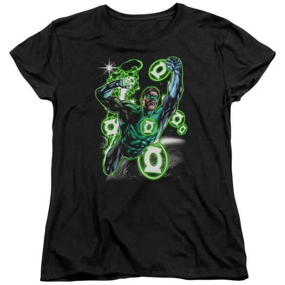 Green Lantern Earth Sector Short Sleeve Womens Tee T-Shirt