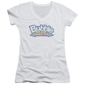 Dubble Bubble Bubble Blox Junior V Neck T-Shirt