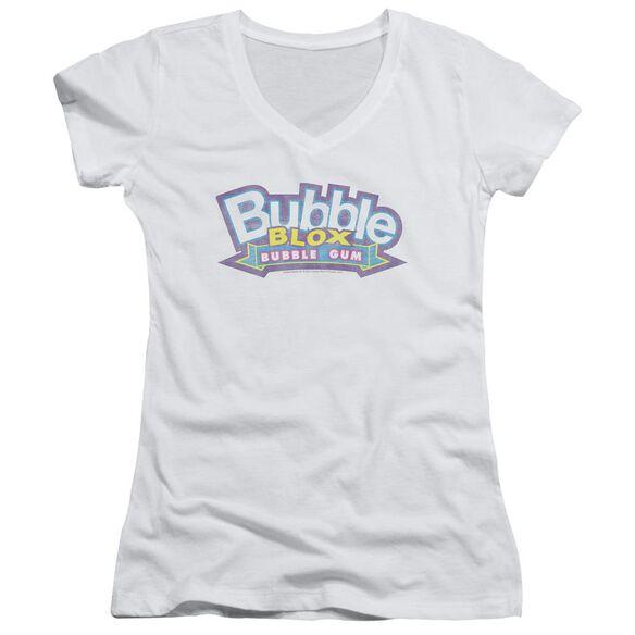 Dubble Bubble Bubble Blox Junior V Neck T-Shirt