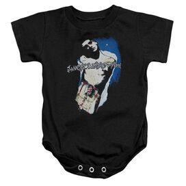 Janes Addiction Perry Infant Snapsuit Black