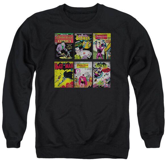 Batman Bm Covers Adult Crewneck Sweatshirt