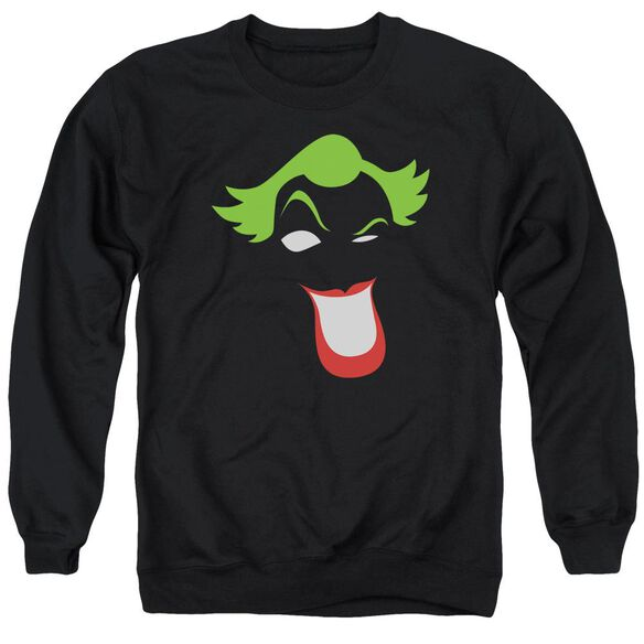 Batman Joker Simplified Adult Crewneck Sweatshirt
