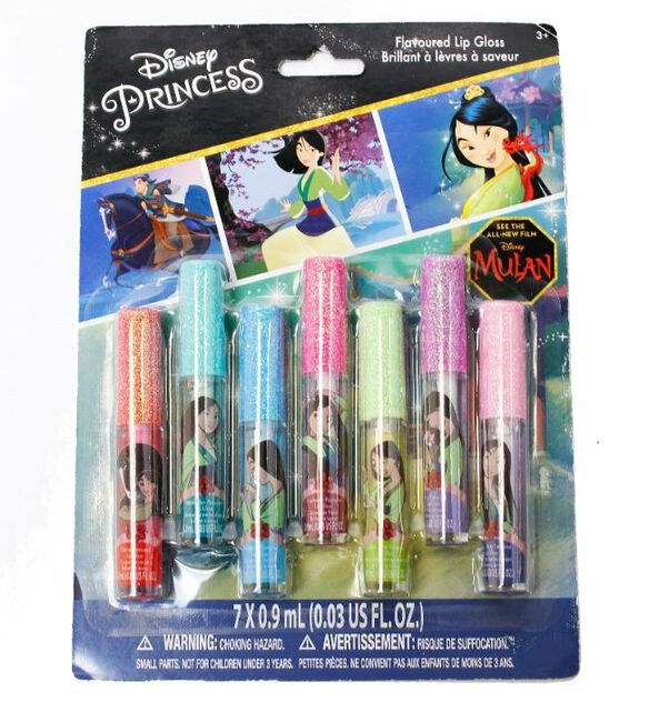 Mulan Flavored Lip Gloss [7-pack]