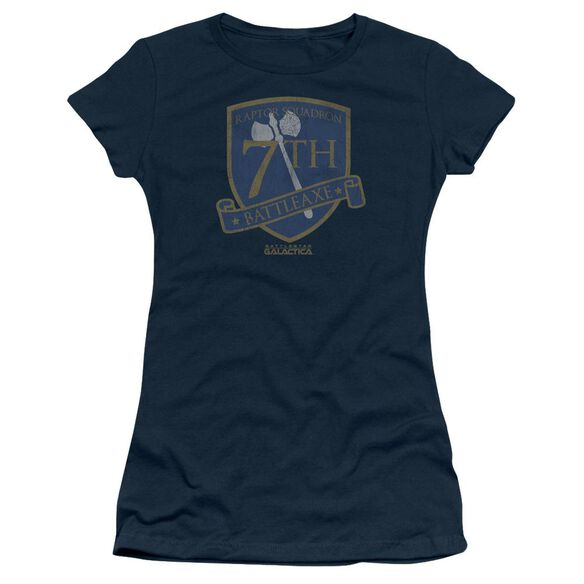 Bsg Battleaxe Badge Short Sleeve Junior Sheer T-Shirt