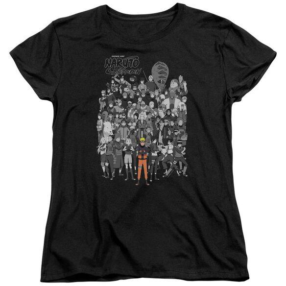 Naruto Characters Short Sleeve Womens Tee T-Shirt