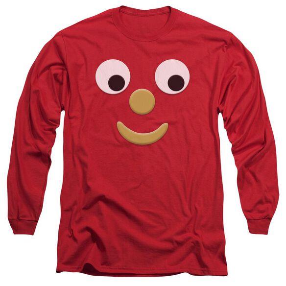 Gumby Blockhead J Long Sleeve Adult T-Shirt