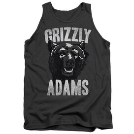 Grizzly Adams Retro Bear Adult Tank