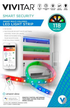 Smart Multi Colored LED Light Strip