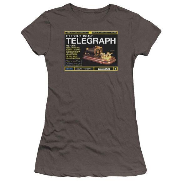 Warehouse 13 Telegraph Island Premium Bella Junior Sheer Jersey