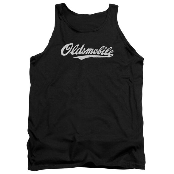 Oldsmobile Oldsmobile Cursive Logo Adult Tank