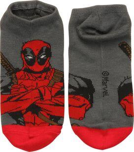 Deadpool Arms Crossed Low Cut Socks