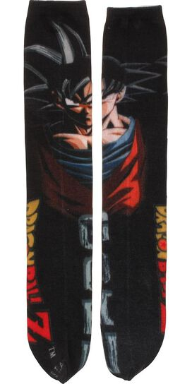 Dragon Ball Z Goku Sublimated Crew Cut Socks