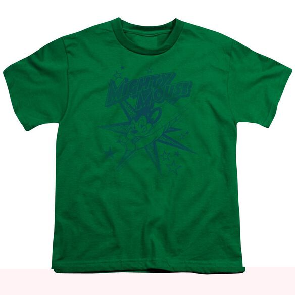 MIGHTY MOUSE MIGHTY MOUSE - S/S YOUTH 18/1 - KELLY GREEN T-Shirt