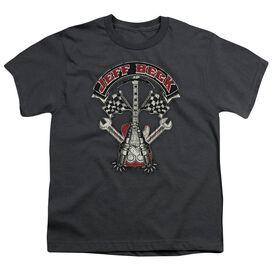 Jeff Beck Beckabilly Guitar Short Sleeve Youth T-Shirt