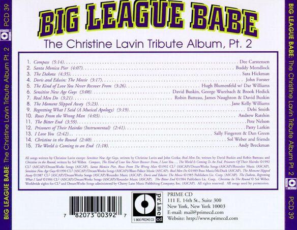 Big League Babe: Christine Lavin Trib Pt 2 / Var