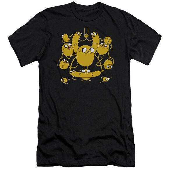 Adventure Time Jakes Short Sleeve Adult T-Shirt