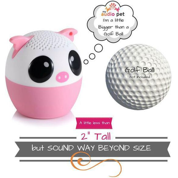 My Audio Pet Mini Bluetooth Wireless Speaker - Party Pig