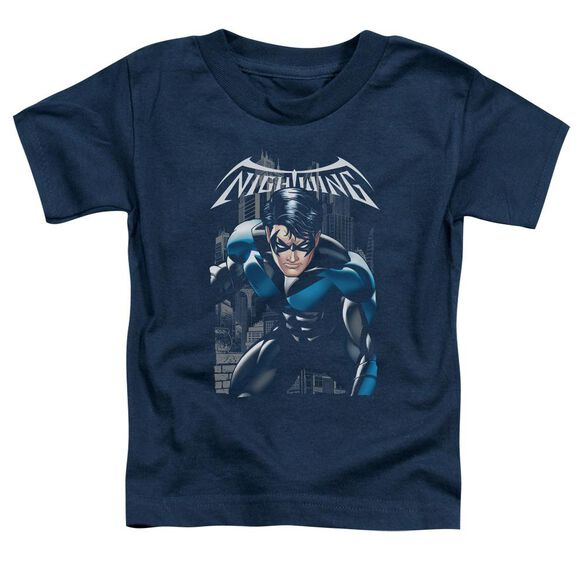 Batman A Legacy Short Sleeve Toddler Tee Navy T-Shirt