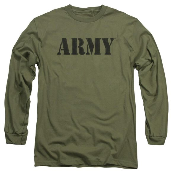 Army Army Long Sleeve Adult Military T-Shirt