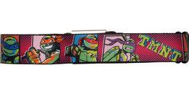 Ninja Turtles TMNT Heroes Squares Seatbelt Mesh Belt