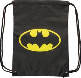 Batman Logo Action City Pose Drawstring Backpack