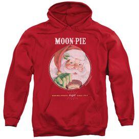 Moon Pie Snacks For Santa Adult Pull Over Hoodie