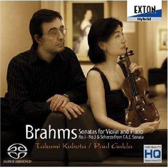 Brahms: Violin Sta - Violin: Takumi Kubota