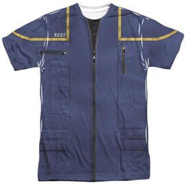 STAR TREK ENTERPRISE COMMAND UNIFORM-S/S ADULT T-Shirt