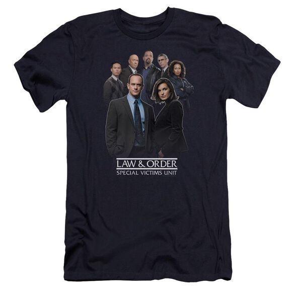 Law And Order Svu Team Premuim Canvas Adult Slim Fit