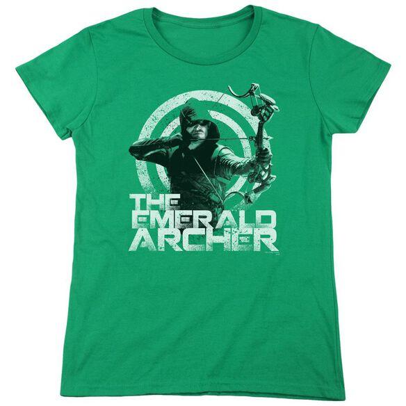Arrow Archer Short Sleeve Womens Tee Kelly T-Shirt
