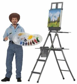 Bob Ross Clothed Action Figure [The Joy of Painting]