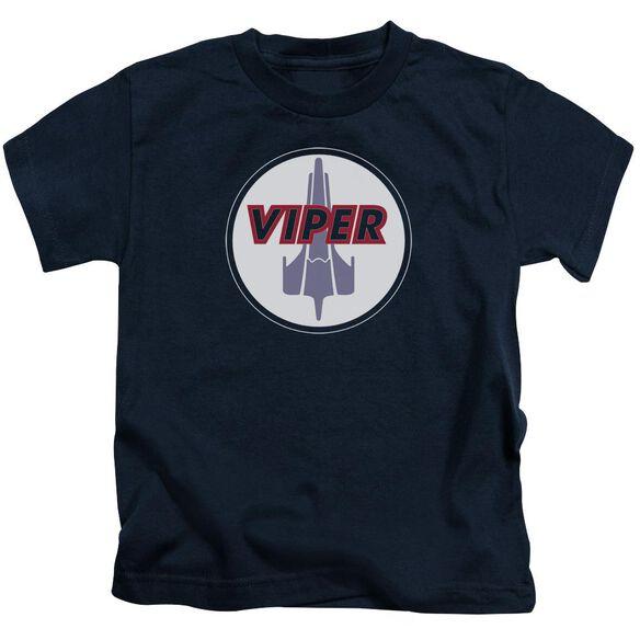 BSG VIPER BADGE - S/S JUVENILE 18/1 - NAVY - T-Shirt