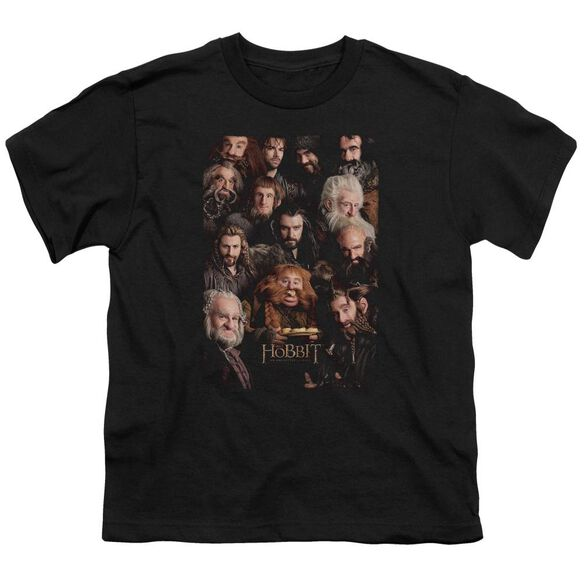 The Hobbit Dwarves Poster Short Sleeve Youth T-Shirt