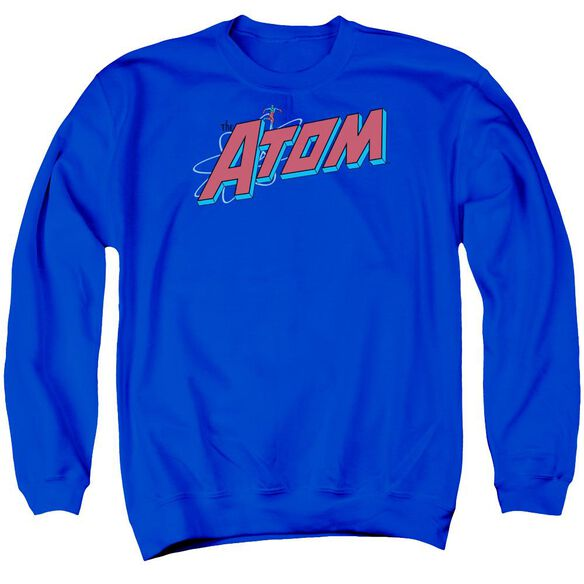 Dc The Atom Adult Crewneck Sweatshirt Royal