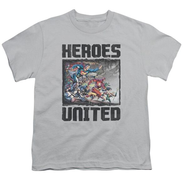 Jla The Charge Short Sleeve Youth T-Shirt