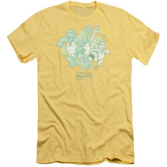 Dragon Tales Group Celebration Short Sleeve Adult T-Shirt