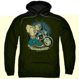 Popeye Biker Popeye-adult