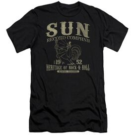 Sun Records Rockabilly Bird Premuim Canvas Adult Slim Fit