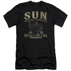 Sun Records Rockabilly Bird Short Sleeve Adult T-Shirt