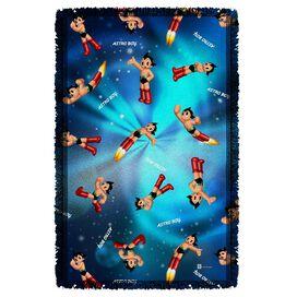 Astro Boy Pattern Woven Throw