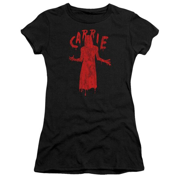 Carrie Silhouette Short Sleeve Junior Sheer T-Shirt