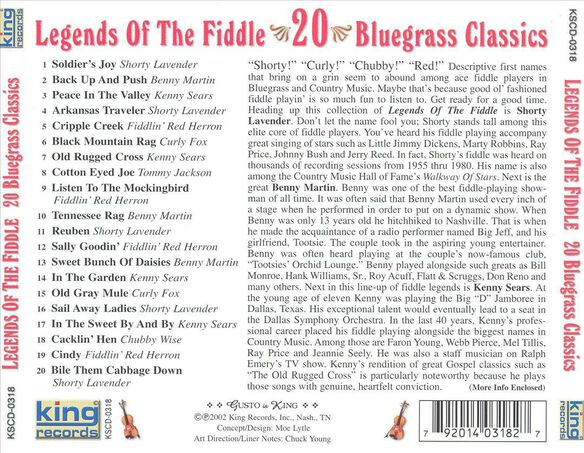 Legends Of The Fiddle / Various