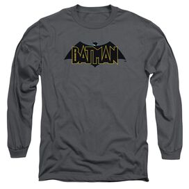 Beware The Batman Logo Long Sleeve Adult T-Shirt