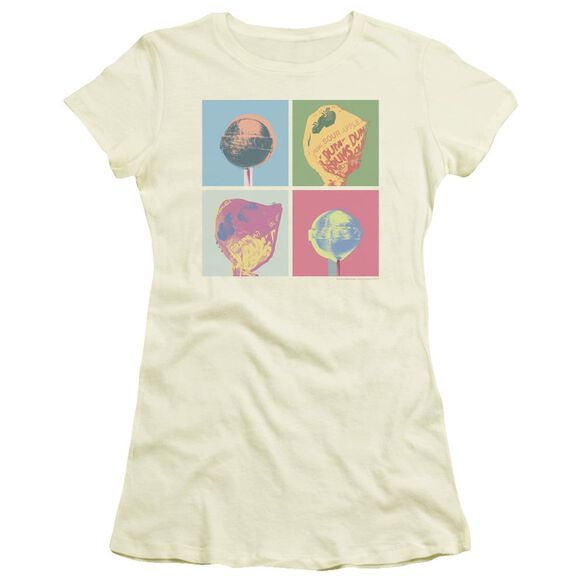 Dum Dums Pop Art Short Sleeve Junior Sheer T-Shirt