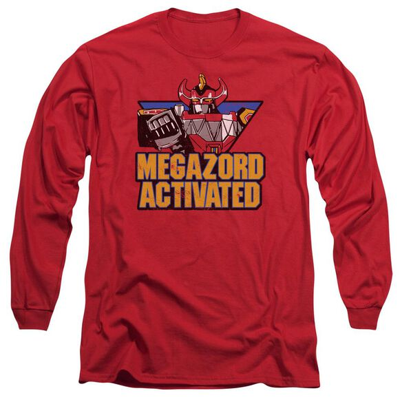 Power Rangers Megazord Activated Long Sleeve Adult T-Shirt