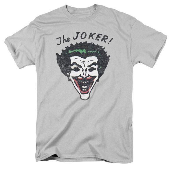 Batman Retro Joker Short Sleeve Adult T-Shirt