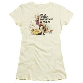 Mirrormask Important Man Short Sleeve Junior Sheer T-Shirt