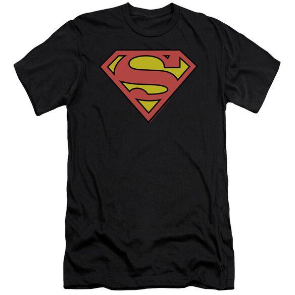 Superman Classic Logo Premuim Canvas Adult Slim Fit